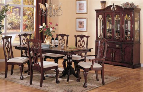 Cherry Wood Dining Room Sets Cherry Dining Room Chairs Home Furniture Design