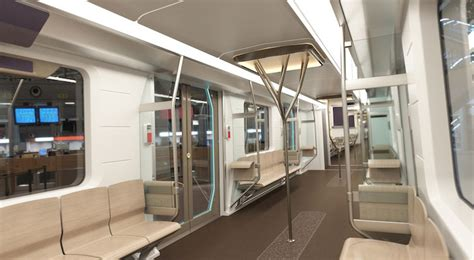 Metro Interiors by Bmw Unveils Recyclable Eco Subway Cars For Poland