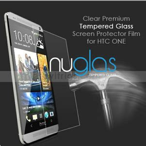 Nuglas Tempered Glass Htc One M7 tempered glass screen protector maker for htc one m7 buy