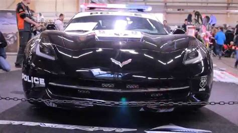 police corvette stingray c7 corvette stingray police car corvettevideos tv