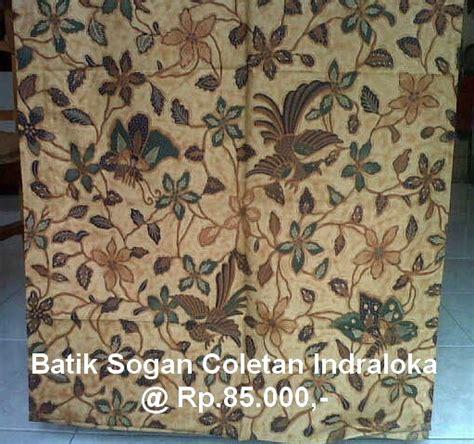 Manisha Batik Kemeja Sogan Genes grosir batik jakarta tas etnik indonesia batik edisi 04