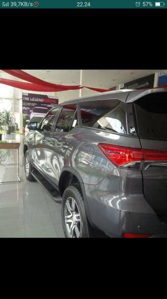 Karpet Dasar Fortuner 2017 ready fortuner vrz grey sporty 2017 unit langka