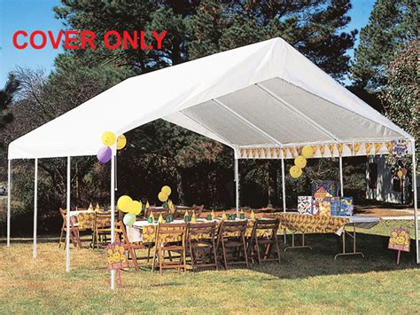 king awnings king canopy white drawstring cover for 18 x 20 canopies