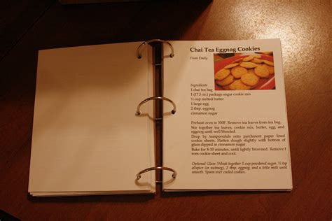 Handmade Cookbook - diy recipe book on awesome avenue