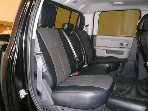 2007 dodge ram mega cab seat covers clazzio leather seat covers dodge ram 2500 3500 2006