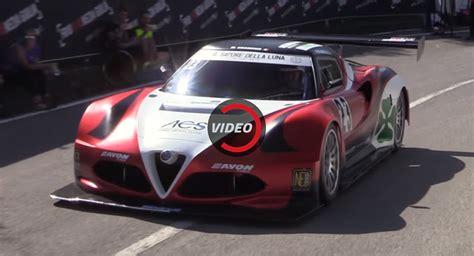 Alfa Af09 4 Time Original 1 alfa romeo 4c hillclimber runs on a formula 3000 v8