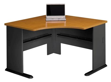 series a cherry 48 inch corner desk from bush