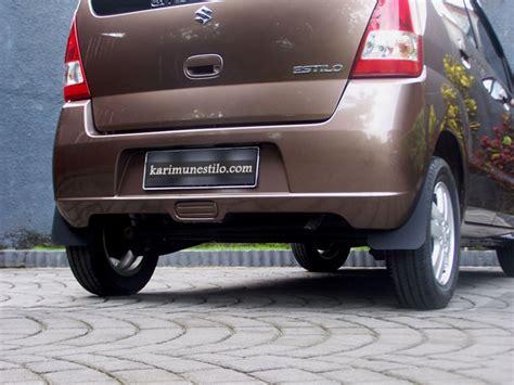 Tv Mobil Atap mud guard atau kepet mobil suzuki karimun estilo