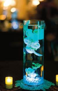 water centerpieces colored water in centerpiece ideas and stuff