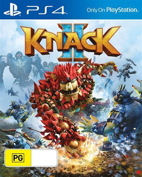 Kaset Ps4 Knack 2 Knack 2 Playstation 4 The Gamesmen