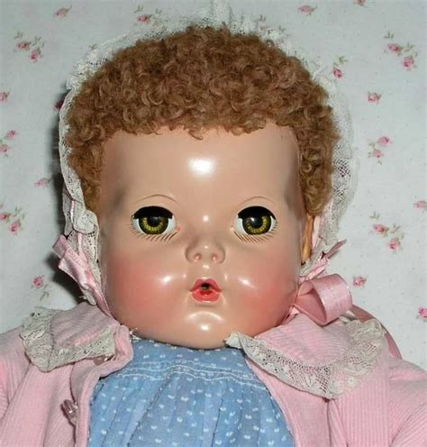 antiques collectibles dolls 20 quot effanbee red caracul dy dee louise baby mold 2 w