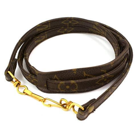 authentic louis vuitton shoulder strap leather monogram