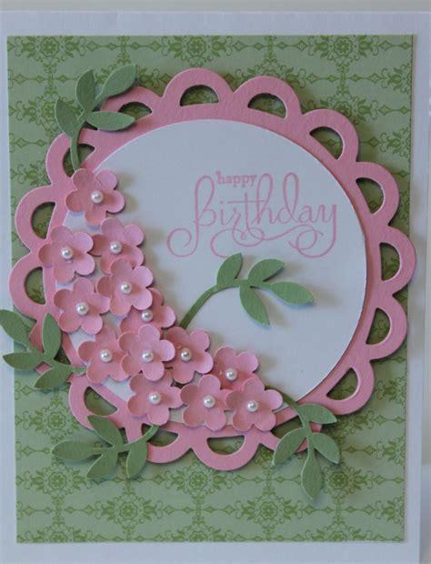 Handmade Happy Birthday - happy birthday flower bouquet card stin up handmade