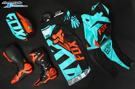 fox motocross kits fox 360 shiv 2016 mx kit aqua