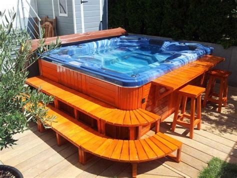jacuzzi backyard jacuzzi outdoor hot tub and spas ideas home interior