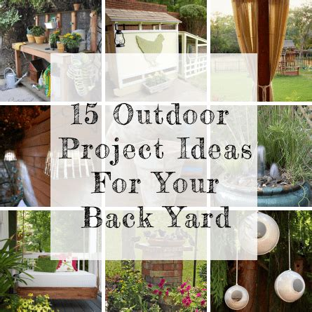 Our Next Outdoor Project Out Door Place Bbq 15 Diy Ideas And Projects For Your Backyard