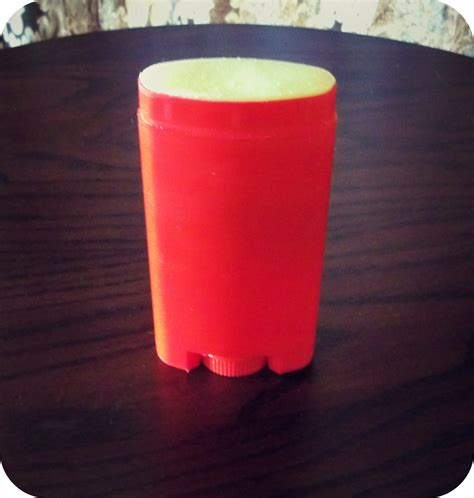 Handmade Deodorant - my all care products part one