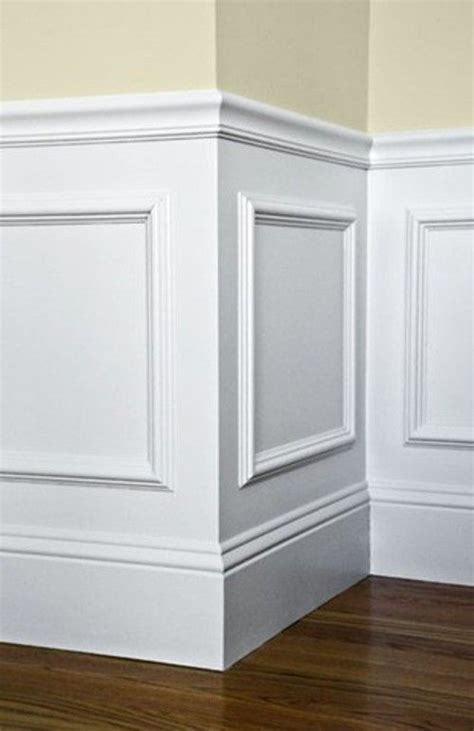 Wainscoting Molding Trim by Dining Room Improvements Plus Molding Tutorial