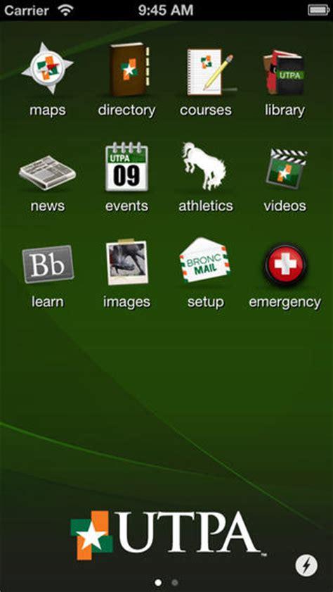 utpa map utpa app for iphone education app by