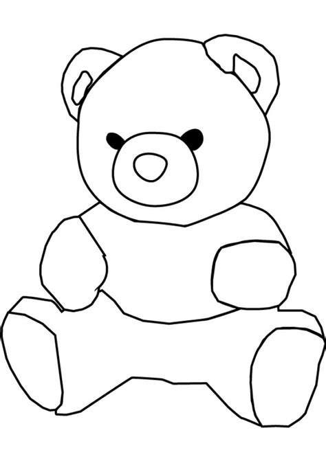 coloring pages of teddy bears to print get this teddy bear coloring pages to print 716ag