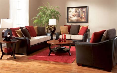 red sofa living room ideas decoration modern living room interior design decorated