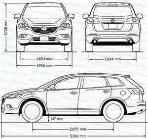 dimensions of mazda cx3 autos post