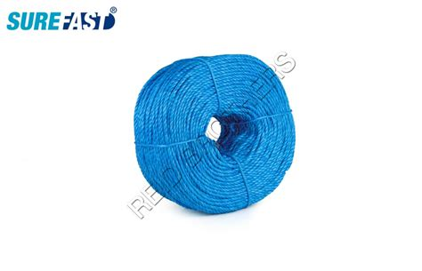 6mm Polypropylene Rope - 6mm to 24mm polypropylene rope blue 220m length