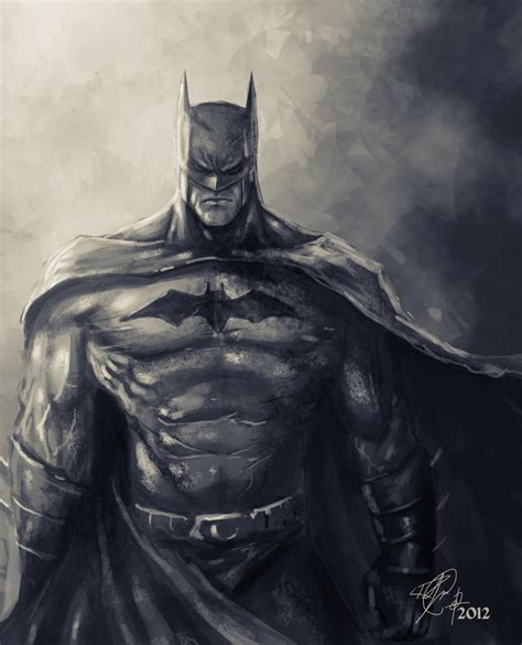 batman speed painting by rob joseph on deviantart