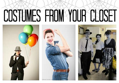 good halloween costumes last minute halloween costumes you can make from your closet