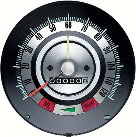 Speedometer Assy Verza Original Ahm 1968 chevrolet camaro parts dash components gauges oe classic industries