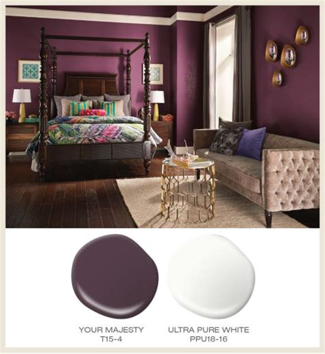 48 best purple rooms images on purple rooms interior photo and behr