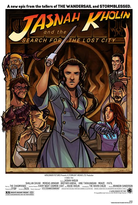 Search For Lost Jasnah Kholin And The Search For The Lost City By Ex M On Deviantart