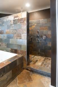 bathroom designs with walk in shower tile designs in walk in showers studio design
