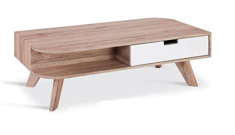 table basse en bois avec tiroir deco in table basse scandinave en bois timaru avec