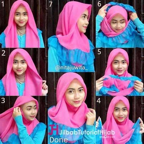 tutorial hijab simple tapi menarik tutorial hijab segi empat simple biasa 5 tutorial hijab