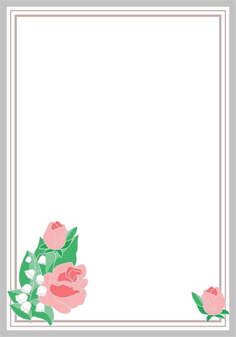 cornici html flower borders and frames