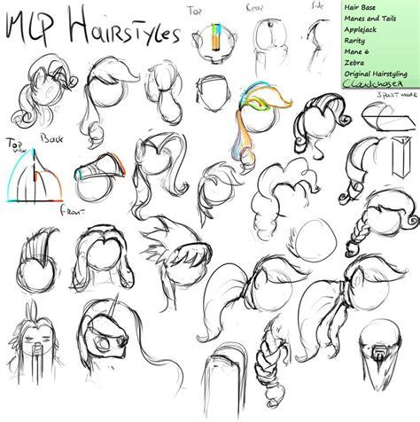 bananart workshop mlp hair styles  assasinmonkey
