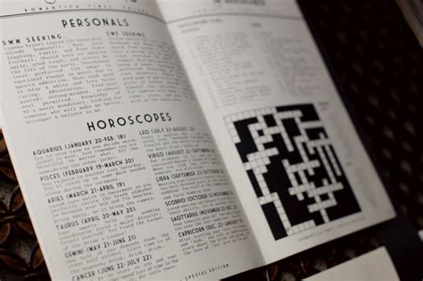 Newspaper Section Crossword by Jos Lindsay S Newspaper Wedding Invitations