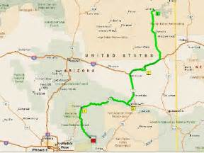 map of payson arizona roving reports by doug p 2008