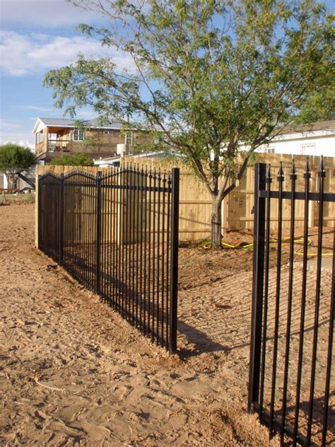 building a patio fence