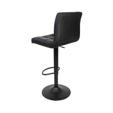 Leather Bar Stools Set Of 2 by Leather Bar Stools Black Set Of 2