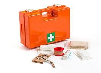 cassetta pronto soccorso aziendale contenuto cassetta primo soccorso contenuto minimo