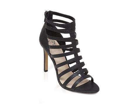 gladiator sandals with heel vince camuto open toe caged gladiator sandals kamella