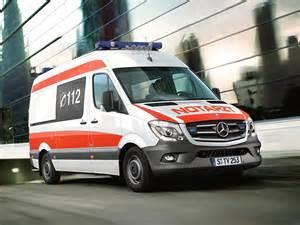 Mercedes Ambulance 2013 Mercedes Sprinter Notarzt 906 Ambulance
