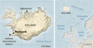 Iceland Map Europe by Gps Mix Up Brings Wrong Turn And Celebrity To An