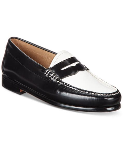 womens bass loafers g h bass co s weejuns loafers