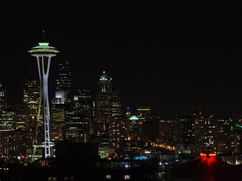 seattle nightlife map panoramio photo of seattle space needle at