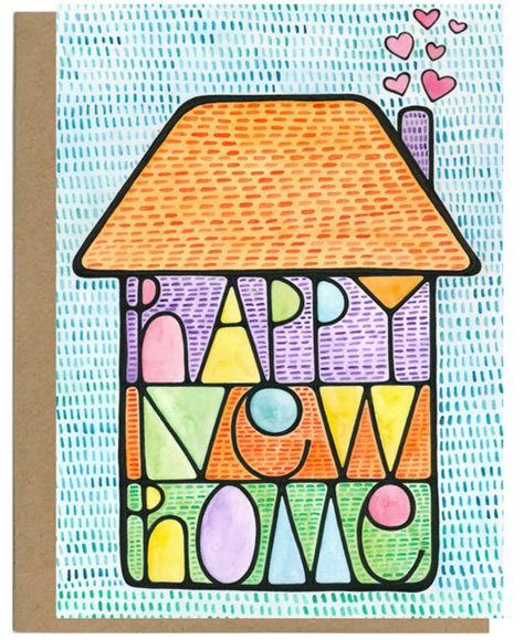 housewarming card happy  home gifted boutique
