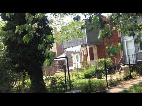 tupac house tupac shakur 2pac childhood house neighborhood in baltimore maryland 3955