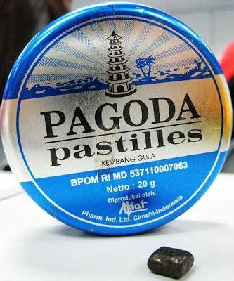 Pagoda Pastiles Mint ujung bumi permen tertua di indonesia yang masih beredar